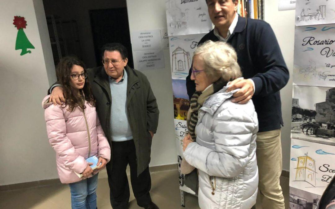 """Antonio rinnova il sostegno alla Associazione Filippo Valenza. Fa una donazione per il """"Corso di Lingua all'Estero"""""""