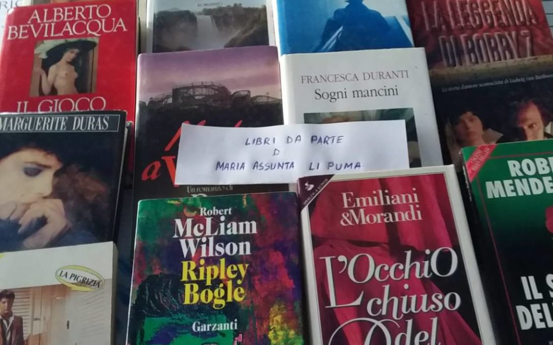 """Libri a domicilio"", Maria Assunta Li Puma rifornisce la Biblioteca,"